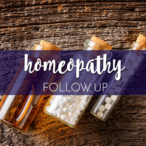 Homeopathy Product Graphic FOllow Up
