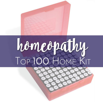 Homeopathy Product Graphic Home Kit